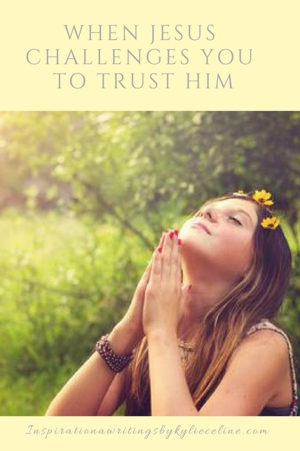 When You have a Challenging Time Trusting IN jESUS