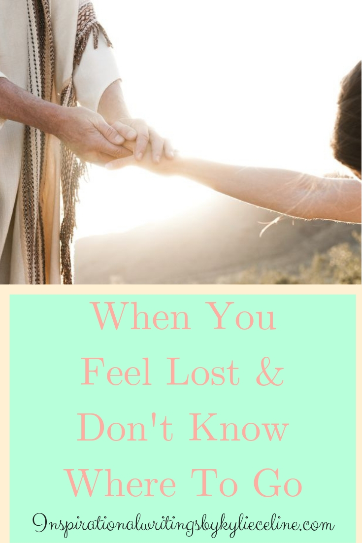 When You Feel Lost & Don't Know Where To Go, Leave It All Behind