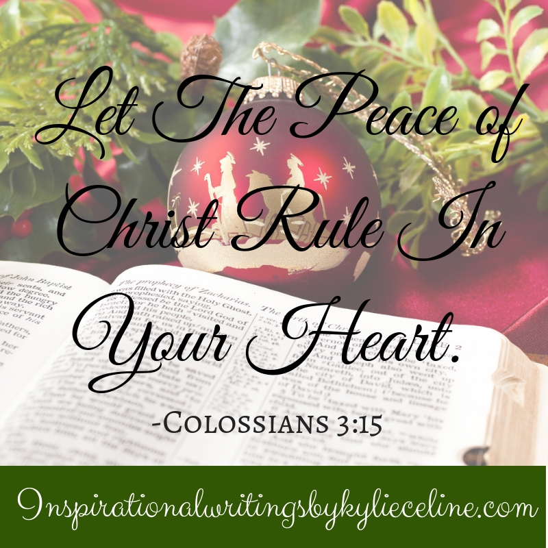 Let The Peace of Christ Rule